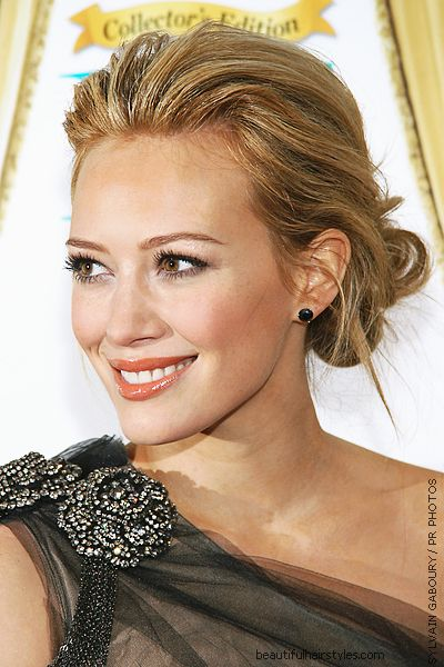 Style inspiration celebrity bride hilary duff hair comes the bride share junglespirit Images