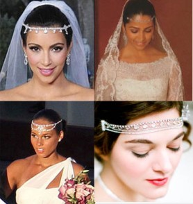 Forehead Bridal Head Chains