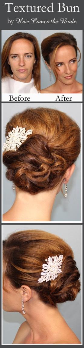 Classic Textured Bridal Bun