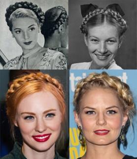 Vintage Milkmaid Braids