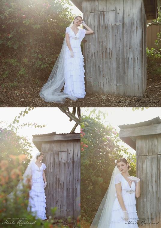 1920s Vintage Inspired Bridal Photo Shoot