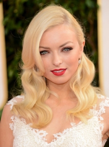 2013 Golden Globes 1940s Vintage Inspired Hair