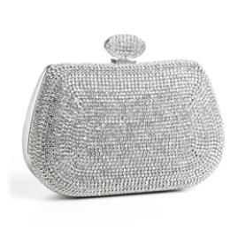 "Stunning Rhinestone Bridal Bag ""Aria"""