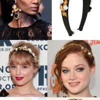 Trend Alert- Designer Flower Headbands