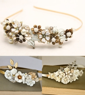 Enamel-porcelain-flower-headbands
