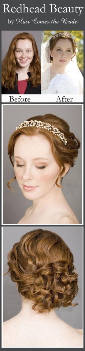 Romantic Redhead Bride
