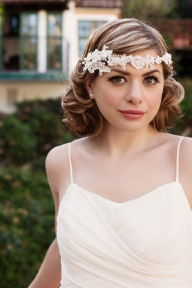 1930s Vintage Bridal Hair and Makeup