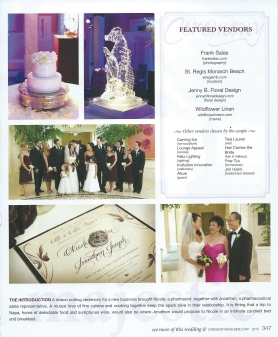Hair Comes the Bride in Ceremony Magazine