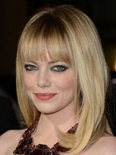 Emma Stone Bridal Smokey Eyes