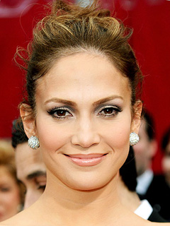 Jennifer Lopez Bridal Smokey Eyes