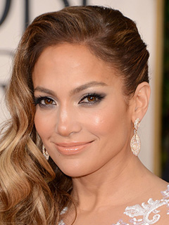 Jennifer Lopez Bridal Smokey Eyes