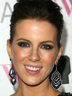 Kate Beckinsale Bridal Smokey Eyes