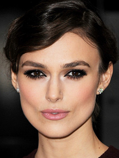 Keira Knightley Bridal Smokey Eyes