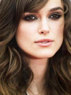 Keira Knightley Bridal Smokey Eyes