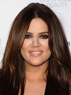 Khloe Kardashian Bridal Smokey Eyes