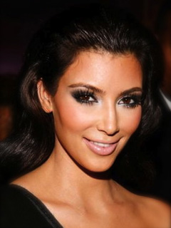 Kim Kardashian Bridal Smokey Eyes