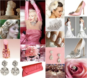 Diamonds Are a Girl's Best Friend Inspiration Board
