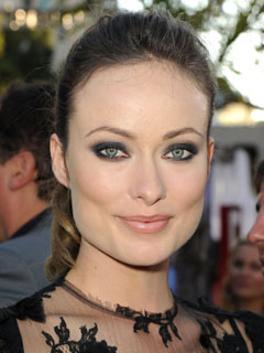 Olivia Wilde Bridal Smokey Eyes