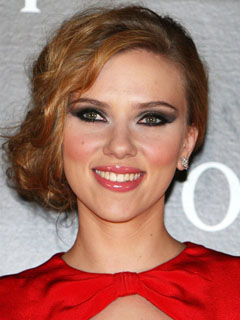Scarlett Johannson Bridal Smokey Eyes
