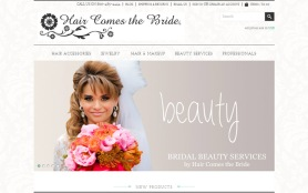 New Hair Comes the Bride Website